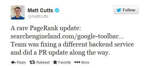 matt-cutts-twitter-pr-update-confirmed